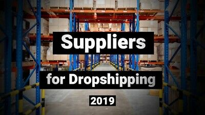 30,000+ Suppliers LIST 2019 WHOLESALE-JOBLOT - BANKRUPT STOCK UP TO 95% OFF!!!