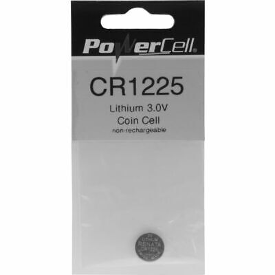 CR1225 POWERCELL 3V Lithium Battery
