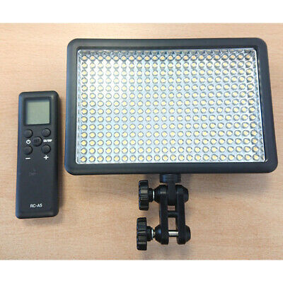 LED308D LED Video Continuous Light Bright Panel Battery Powered Dimmable