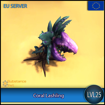 Coral Lashling lvl25 Pet BFA | All Europe Server | WoW Warcraft Loot