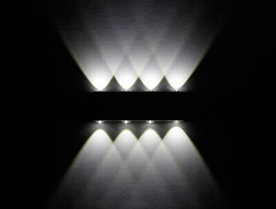 LED Bedside Wall Lamp 8W Staircase Aisle Aluminum Lighting Hotel Wall Sconce