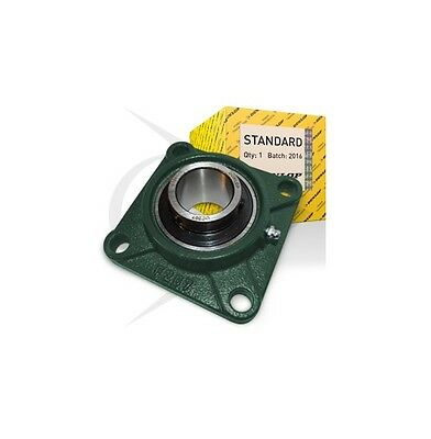 UCF211/55mm Dunlop 4 Bolt Square Flanged Self Lube Housed Bearing