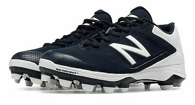 New Balance Low-Cut 4040v1 TPU Softball Cleat Womens Shoes Navy with White Size