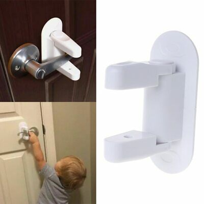 NEW Safety 1st Door Lever Handle Baby Proof Child Lock  One Hand Use