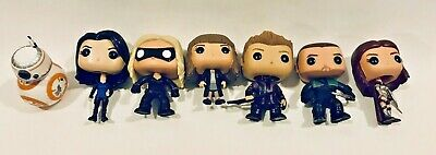 Funko Pop Loose Lot of 7 Arrow, Marvel, Star Wars, Harry Potter
