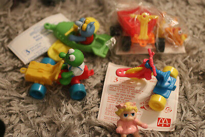 1990 McDonald's happy meal Muppet Babies complete set 2 have Instructions wave#2