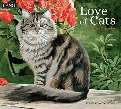 Love of Cats 2020 Wall Calendar by Lang 20991001926