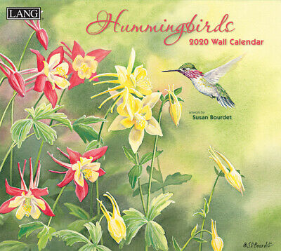 Hummingbirds 2020 Wall Calendar by Lang 20991001918