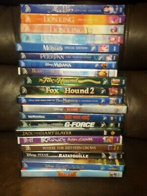 Lot Of 20 Walt Disney Movies (DVD Set) Good Titles