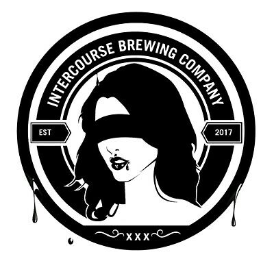 Intercourse Brewing Company Sticker decal craft Brewery Micro Pennsylvania PA