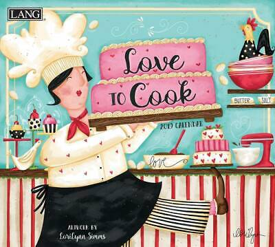 Love to Cook 2020 Wall Calendar by Lang 20991001928