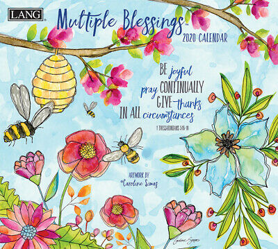 Multiple Blessings 2020 Wall Calendar by Lang 20991002007
