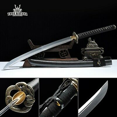 HAND FORGED POLEARM Naginata forged Ninja Samurai Heavy two handed