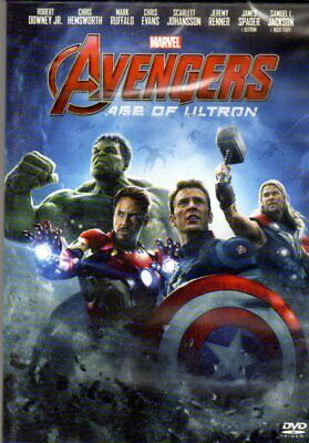 AVANGERS AGE OF ULTRON dvd