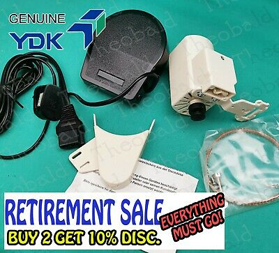 GENUINE YDK SEWING MOTOR and FOOT CONTROL/POWER PEDAL MOST OLDER MACHINES BLB357