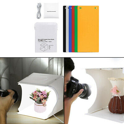 Light Room Photo Studio Photography Lighting Tent Kit Backdrop Cube Mini Box tyu