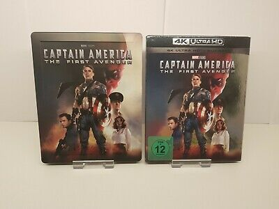 Captain America The First Avenger Blu-ray Steelbook + 4K Blu-ray Disc