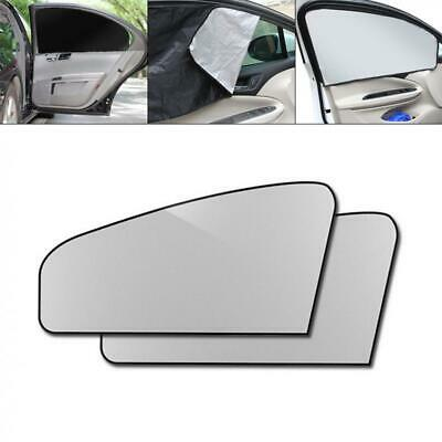 2x Universal Car Side Rear Window Sun Shade Blind Cover Screen Kid Child Protect