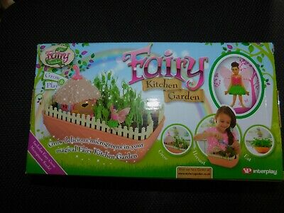 My Fairy Kitchen Garden - New In Box - Easy Grow Micro Green Seeds