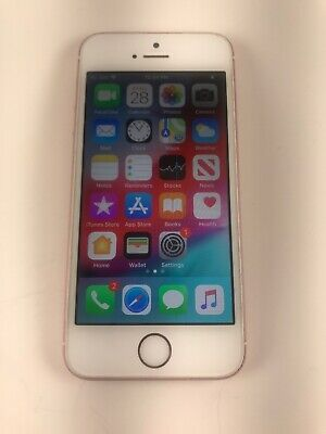 Apple iPhone SE - 64GB - Rose Gold (Unlocked) A1723 (CDMA + GSM) READ DEATAILS!