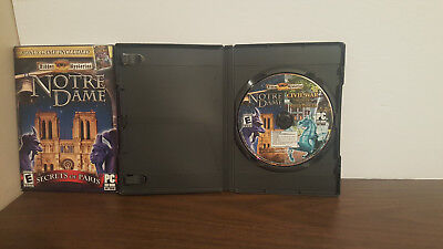 Hidden Mysteries  Notre Dame  Mysteries of the Ancient Cathedral PC Cases & disc