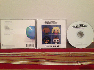 The  Beginning by The Black Eyed Peas music disc  Case-disc & inserts