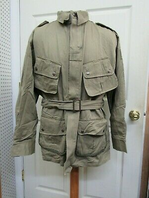 WW2 US Army Airborne Paratrooper M42 Jump Jacket 101ST 82ND Reproduction Size 48