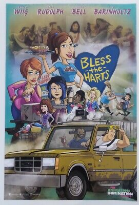 SDCC Comic Con 2019 handout FOX Bless The Harts poster