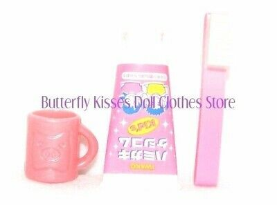 """Toothbrush, Paste, Cup For 18"""" American Girl Doll Clothes Accessory BPK"""
