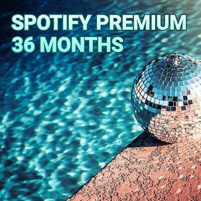 Spotify Premium 36 Months 3 Years Warranty Support Read Description