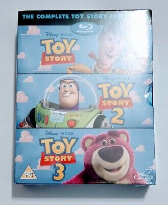 The Complete Toy Story Collection Blu ray Disc 2012 4 Disc Set Sealed New Sealed