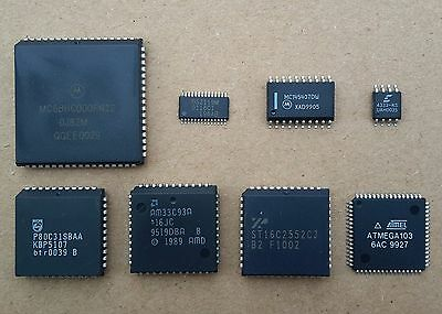 Microcontrollers, microprocessors, peripheral ic:s