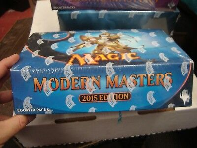 NEW MTG Magic The Gathering 2015 MODERN MASTERS 2015 Booster Box New Sealed