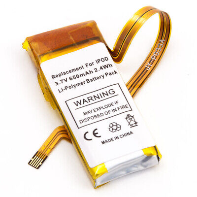Quality Battery for Apple iPod Video 5th Gen 30 GB 616-0229 MA002LL/A MA664LL/A