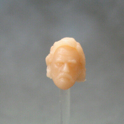 """MH214 Custom Cast Sculpt part Male head cast for use with 3.75/"""" action figures"""