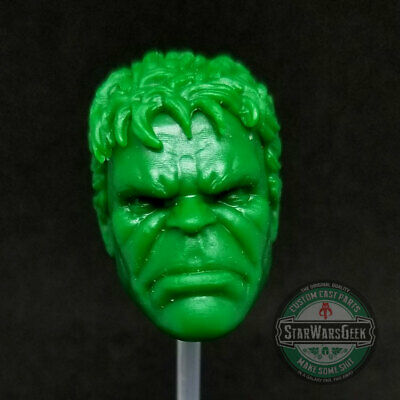 "ML302 Hulk Face-Off open mouth Custom Cast head use with 6/"" Marvel Legends"