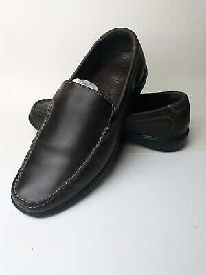Cole Haan Air Keating Venetian Dark Chocolate Brown Leather Loafers 11.5 M w/Box