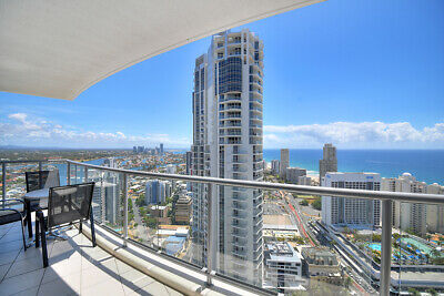 GOLD COAST ACCOMMODATION Chevron Renaissance 3 BED OCEAN $1550 7 Nights