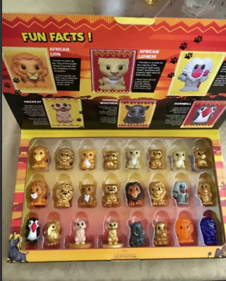Woolworths The Lion King Ooshies Pick Your Own $4.99 & Flat rate $8.20 Postage