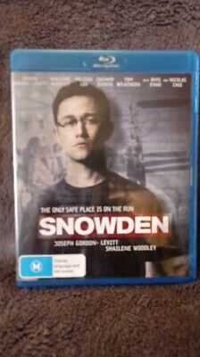 Snowden - Blu-ray Region FREE   [New & Unsealed] CHEAPEST ON EBAY