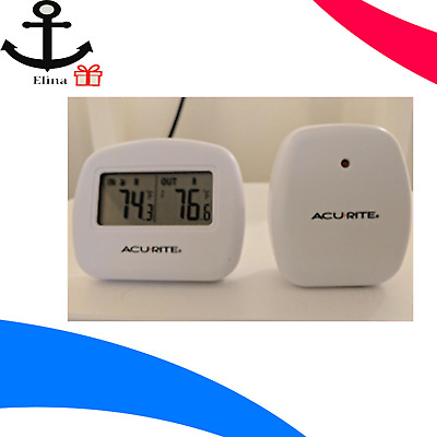 AcuRite 00782A2 Wireless Indoor//Outdoor Thermometer