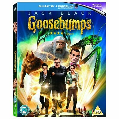 Goosebumps 3D - Limited Edition Slip Sleeve Cover Blu-Ray 3D + Digital