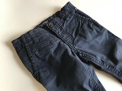 TOMMY HILFIGER Super coole dunkelblaue Chinohose Gr.86