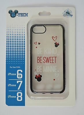 Disney Parks Be Kind Be Sweet Be Minnie Mouse Iphone 6s/7/8 Phone Case NWT