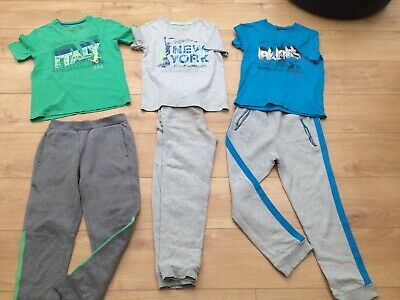 3xjoggers trousers 11-12 years