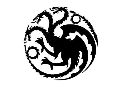 Adesivo Sticker Targaryen Game Of Thrones Daenery Car Auto Moto Fuoristrada Rock