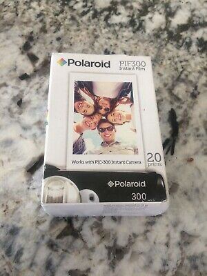 NEW Genuine Polaroid PIF 300 Instant Film - 20 Prints (PIC300) - 1 pack