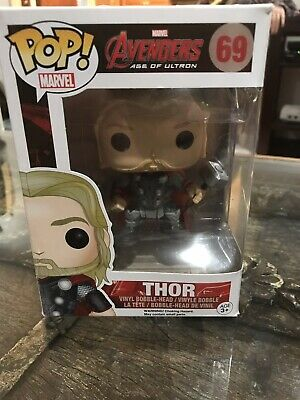 Funko Pop Thor #69, Avengers Age of Ultron, Marvel, (Retired, Authentic)