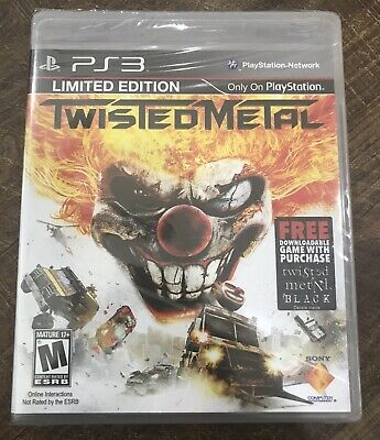 TWISTED METAL: BLACK - OPEN BOX - Greatest Hits Sony