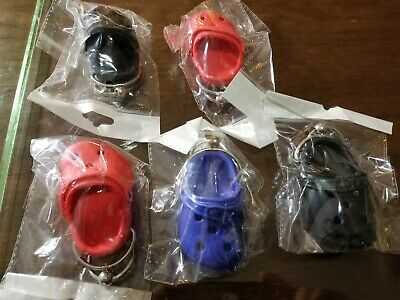 5 CROC Keychains Key Chain Crocs Clog Sandal Party Favors